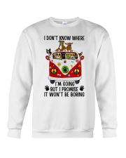 I Don Know Where Crewneck Sweatshirt thumbnail
