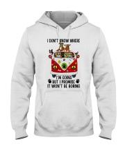 I Don Know Where Hooded Sweatshirt thumbnail