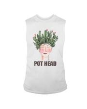 Pot Head Cactass Girl Sleeveless Tee thumbnail