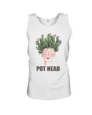 Pot Head Cactass Girl Unisex Tank thumbnail