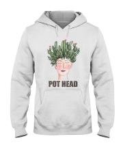 Pot Head Cactass Girl Hooded Sweatshirt thumbnail