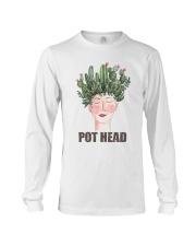 Pot Head Cactass Girl Long Sleeve Tee thumbnail