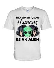 In A World Full Of Humans V-Neck T-Shirt thumbnail