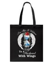 Husband With Wings Tote Bag thumbnail