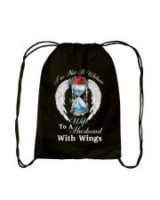 Husband With Wings Drawstring Bag thumbnail