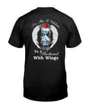 Husband With Wings Classic T-Shirt back