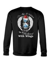 Husband With Wings Crewneck Sweatshirt thumbnail