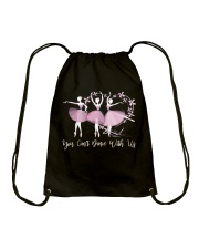 You Can Dance With Us Drawstring Bag thumbnail