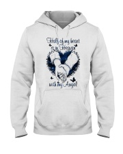 Half Of My Heart Hooded Sweatshirt front
