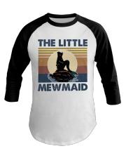 The Little Mewmaid Baseball Tee thumbnail