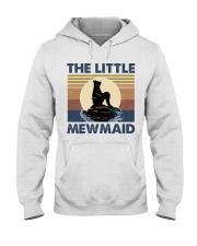 The Little Mewmaid Hooded Sweatshirt front