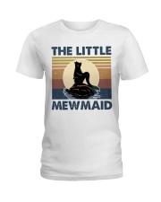 The Little Mewmaid Ladies T-Shirt thumbnail