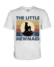 The Little Mewmaid V-Neck T-Shirt thumbnail
