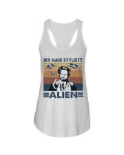 My Hair Stylist Ladies Flowy Tank thumbnail