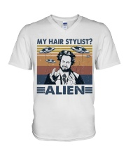 My Hair Stylist V-Neck T-Shirt thumbnail
