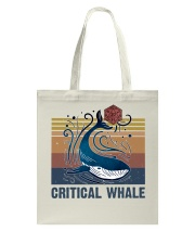 Critical Whale Tote Bag thumbnail