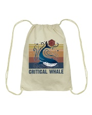 Critical Whale Drawstring Bag tile