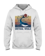 Critical Whale Hooded Sweatshirt thumbnail