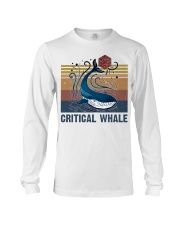 Critical Whale Long Sleeve Tee thumbnail