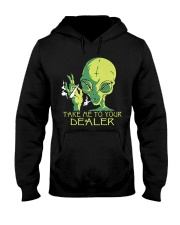 Take Me To Your Dealer Hooded Sweatshirt thumbnail