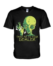 Take Me To Your Dealer V-Neck T-Shirt thumbnail