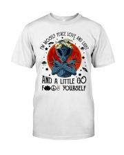 Im Mostly Peace Love Light Classic T-Shirt tile