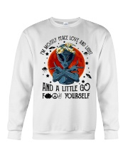 Im Mostly Peace Love Light Crewneck Sweatshirt thumbnail