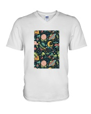 UFO Alien Believe V-Neck T-Shirt thumbnail