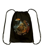 Not All Those Who Wander Drawstring Bag thumbnail
