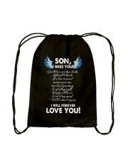 I Miss You Son Drawstring Bag tile