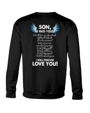 I Miss You Son Crewneck Sweatshirt tile