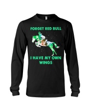 Forget Red Bull I Have My Own Wings Long Sleeve Tee thumbnail