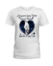 A Big Piece Of My Heart Ladies T-Shirt thumbnail
