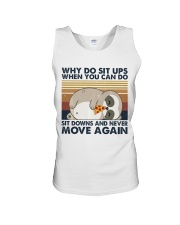 Why Do Sit Up Unisex Tank thumbnail