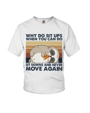 Why Do Sit Up Youth T-Shirt thumbnail