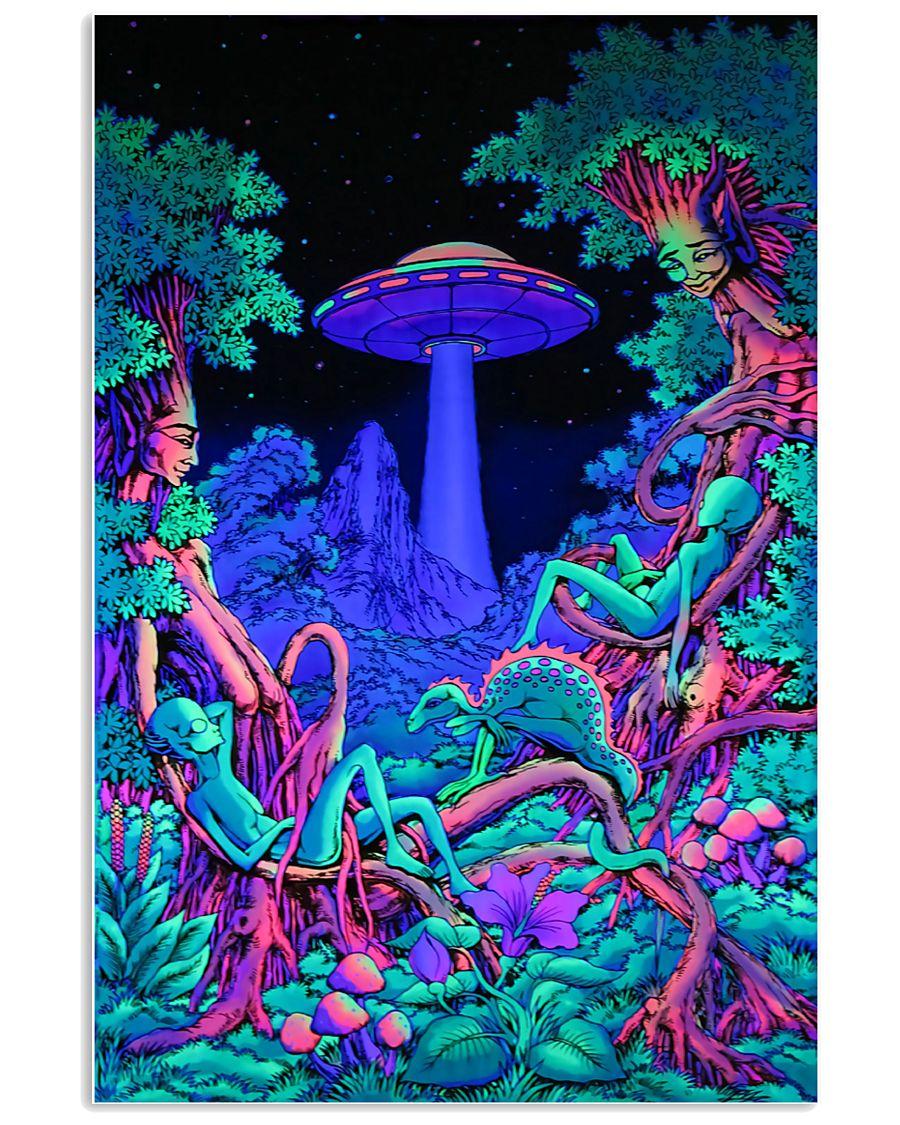 Alien Area 11x17 Poster