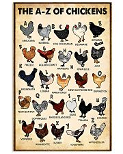 The AZ Of Chickens 11x17 Poster front