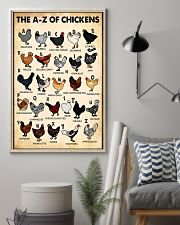 The AZ Of Chickens 11x17 Poster lifestyle-poster-1