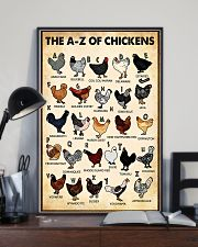 The AZ Of Chickens 11x17 Poster lifestyle-poster-2