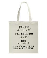 I Will Do I Will Even Do Tote Bag thumbnail