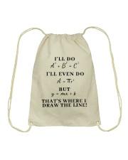 I Will Do I Will Even Do Drawstring Bag thumbnail
