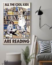 All Te Cool Kids Are Reading 11x17 Poster lifestyle-poster-1