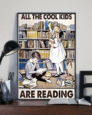 All Te Cool Kids Are Reading 11x17 Poster lifestyle-poster-2
