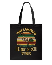 Pine Lamingo Tote Bag tile