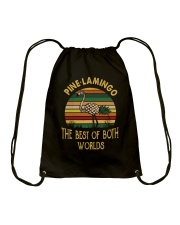 Pine Lamingo Drawstring Bag thumbnail