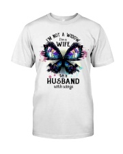 Im A Wife To A Husband With Wings Classic T-Shirt front