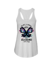 Im A Wife To A Husband With Wings Ladies Flowy Tank thumbnail