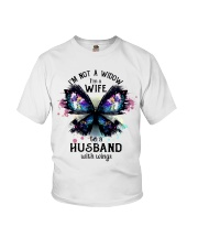 Im A Wife To A Husband With Wings Youth T-Shirt thumbnail