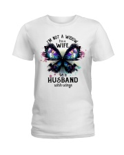 Im A Wife To A Husband With Wings Ladies T-Shirt thumbnail
