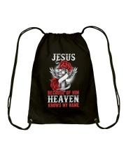 Heaven Knows My Name Drawstring Bag thumbnail